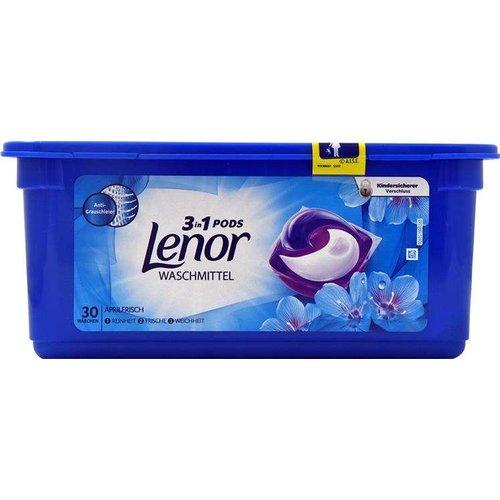 Lenor Lenor Wasmiddel - 3 In 1 Pods 30 Stuks