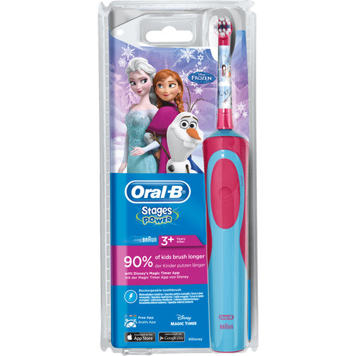Oral B Oral-B Elektrische Tandenborstel -Stages Power Kids Disney Frozen