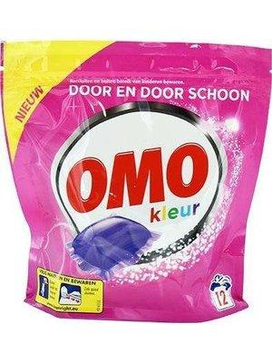 Omo Omo Wasmiddel - Kleur 12 Capsules
