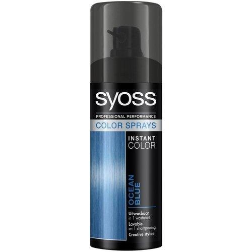 Syoss Syoss Colorspray - Ocean Blue 120ml