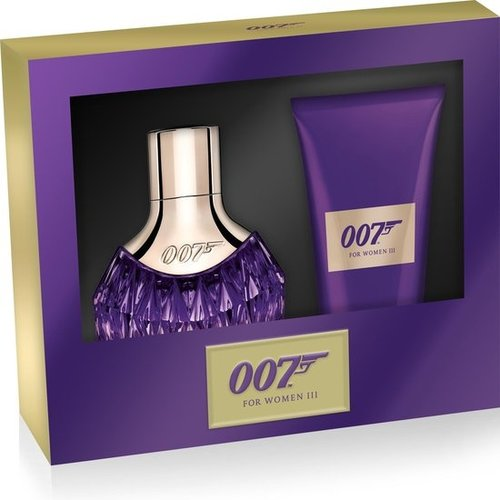 James Bond James Bond Woman III Giftset - Eau de Parfum 30 ml + Bodylotion 50 ml - Dames