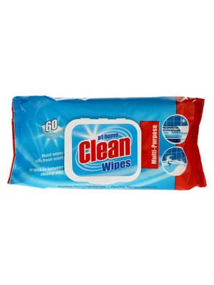At Home At Home - Clean Wipes Original 60 Doekjes