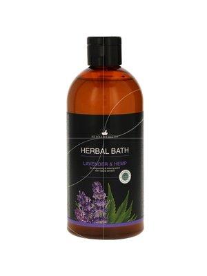 Herbamedicus Herbal Bath - Lavender & Hemp Badolie 500 ml