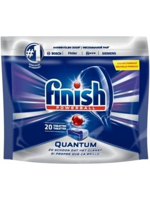 Finish Vaatwas Powerball Quantum 20 tabletten