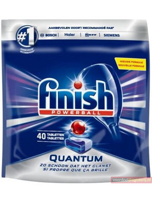 Finish Powerbal Vaatwastabletten - Quantum 40 Stuks
