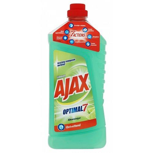 Ajax Allesreiniger - Limoen Optimal 7 1,25 Liter