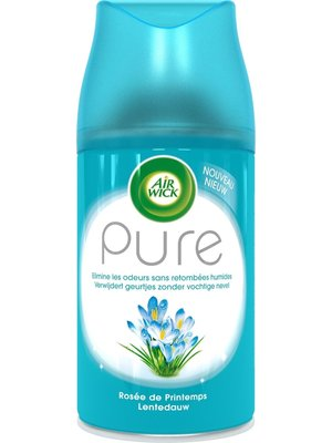 Air Wick Pure Freshmatic Navul - Lentedauw 250 ml