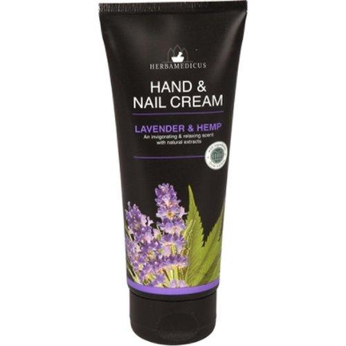 Herbamedicus Hand & Nagel Creme - Lavender & Hemp 100 ml