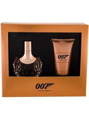 James Bond 007 Gift Set  For Woman II - Eau De Parfum 30 ML - Bodylotion 50 ML