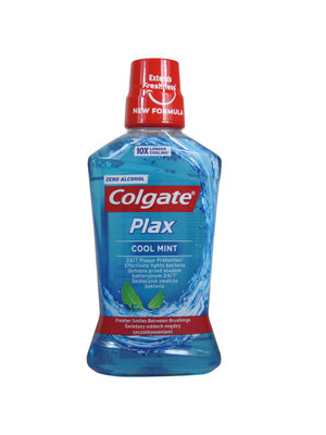 Colgate Plax Mondwater - Cool Mint 500 ml