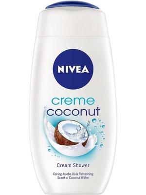 Nivea Shower Gel Creme Coconut 250ml