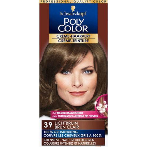 Poly Color Schwarzkopf Poly Color Semi Permanente Haarverf - Nummer 39 Lichtbruin