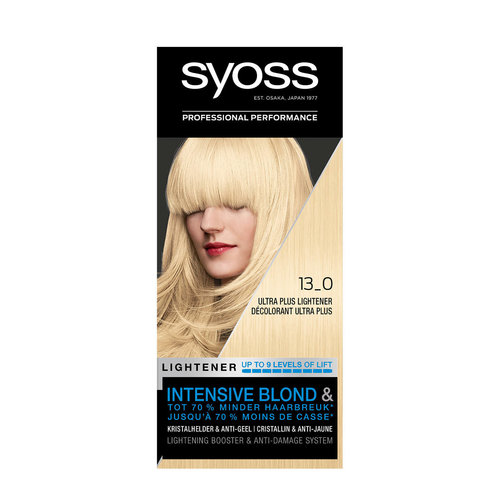 Syoss Syoss Color Lighteners Haarverf - Intensive Blond Nummer 13.0