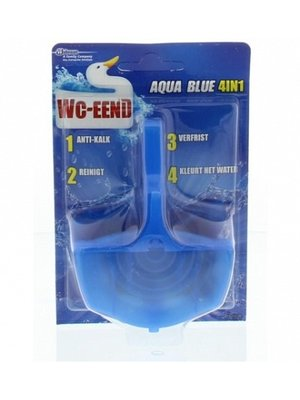 Wc-Eend Toiletblok - Aqua Blue 4 in 1 40 gr