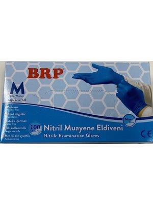Lifetime Brp Handschoenen - Nitrille Maat Medium 100 stuks
