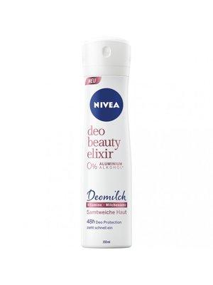 Nivea Deodorant Spray - Beauty Elixer 0% Alcohol 150 ml
