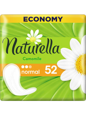 Naturella Naturella Inlegkruisjes - Camomile 52 Stuks