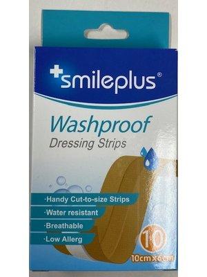 Lifetime Smileplus Pleister - Washproof 10X6 Cm 10 Stuks