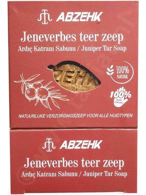 Abzehk Abzehk Zeep - Jeneverbes Teer 150gr