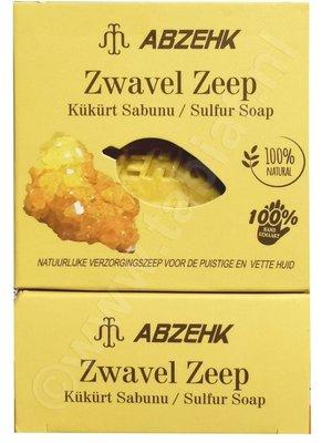 Abzehk Abzehk Zeep -Zwavel 150 gr