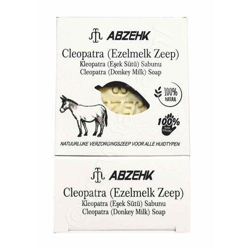 Abzehk Abzehk Zeep - Cleopatra Ezelmelk Zeep 150 gr
