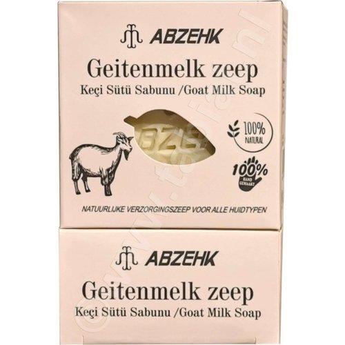 Abzehk Abzehk Zeep - Geitenmelk 150 gr
