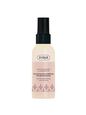 Ziaja Ziaja Conditioner Spray - Duo-Phase Strengthening Spray  Cashmere Proteins & Amaranth Oil 125ml