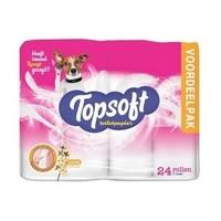 Topsoft Wc Papier - 2 Laags 24 Rollen