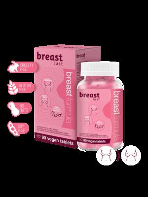 Breast Lust - Borst Formule (1 maand) 90 Vegan Tabs