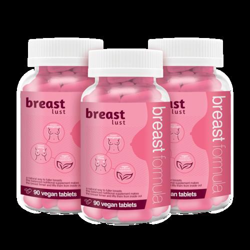 Breast Lust - Borst Formule (3 maanden) 270 Vegan Tabs