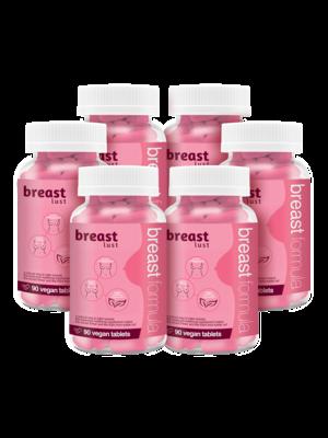 Breast Lust - Borst Formule (6 maanden) 540 Vegan Tabs