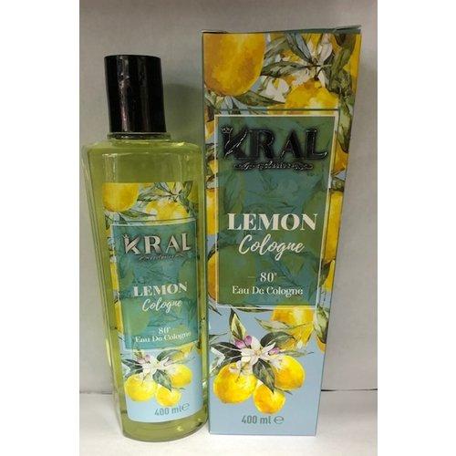 Kral Eau De Cologne - Lemon 400ml