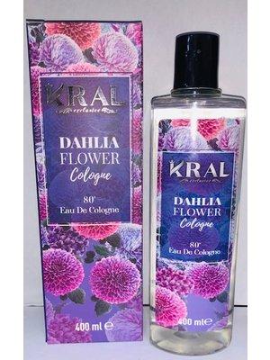 Kral Eau De Cologne - Dahlia Flower 400ml