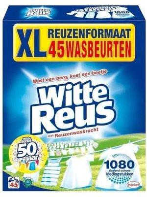 Witte Reus Waspoeder - 45 Wasbeurten 2.475kg