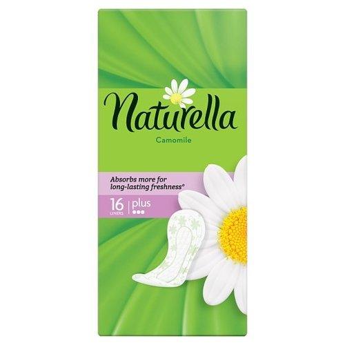Naturella Naturella Inlegkruisjes - Camomille 16 stuks