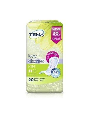 Tena Tena Lady Discreet Inlegkruisjes - Mini 20 stuks