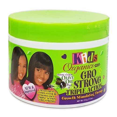 Africas Best Kids Organics Gro Strong - Triple Action Growth Therapy 213 Gr