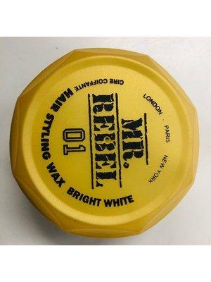 Mr. Rebel styling wax bright white 01 150 ml