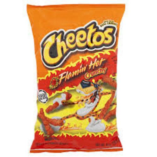 Cheetos - Flamin Hot Crunchy 226 Gram