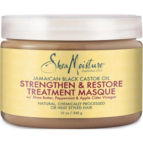 Shea Moisture Shea Moisture Jamaican Black Castor Oil Strengthen & Restore Treatment Masque - 340gr