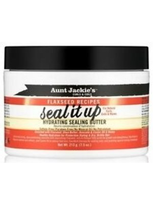 Aunt Jackie's Aunt Jackie's Flaxseed Recipes Hydrating Sealing Butter - Seal It Up 213gr