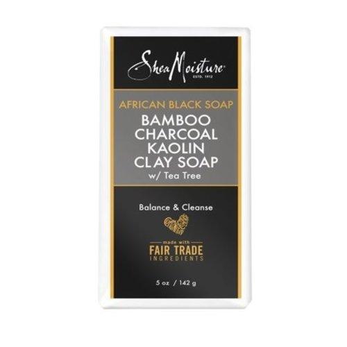 Shea Moisture Shea Moisture African Black Soap Bamboo Charcoal Kaolin Clay Soap - 142gr
