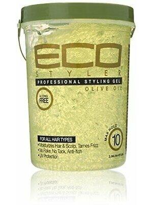 Eco Eco Professional Styling Gel - Olive Oil 2.360 liter