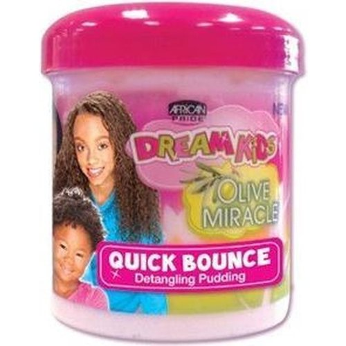African Pride African Pride Dream Kids Olive Miracle Quick Bounce Detangling Pudding - 425 gr