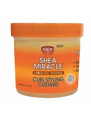 African Pride African Pride Shea Miracle Curl Styling Custard - 340gr