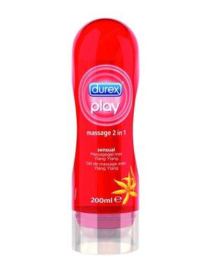 Durex Durex Play Massage 2 in 1 - Sensual Massagegel Met Ylang Ylang 200ml