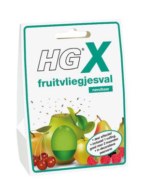 Hg HG X Fruitvliegjesval - Navulbaar 1 stuk