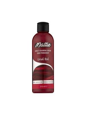 Mattie Direct Coloring Cream Semi-Permanent  - Coral Red 210ml