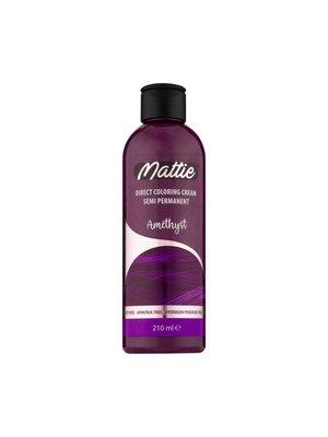 Mattie Direct Coloring Cream Semi-Permanent  - Amethyst 210ml