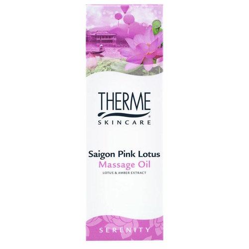 Therme Therme Massageolie - Saigon Pink Lotus 125ml